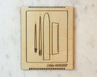 Mini Loom/Tool/Yarn Kit + Guide