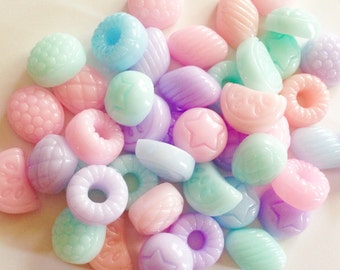 Candy Cabochons 6,12,18 pcs