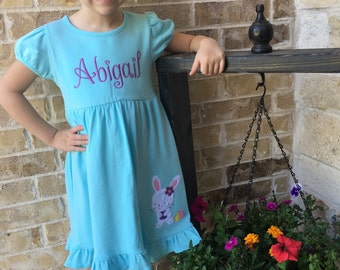 Personalized Easter Dress - Girls Personalized Spring Dress