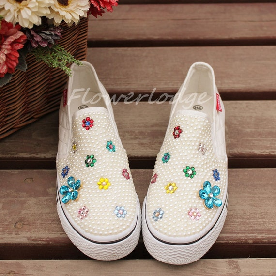 ivory white canvas custom shoes toddler shoes