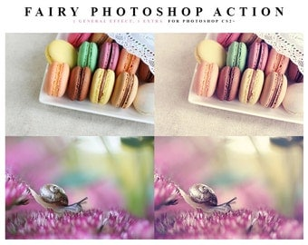 INSTANT DOWNLOAD Fairy Photoshop Action