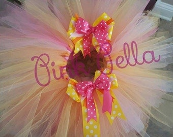 Tutu With matching Hair Bow!