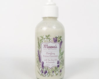 Tea Tree Facial Cleanser - blemish control