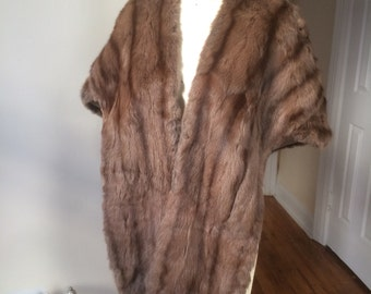 Vintage fur wrap or stole