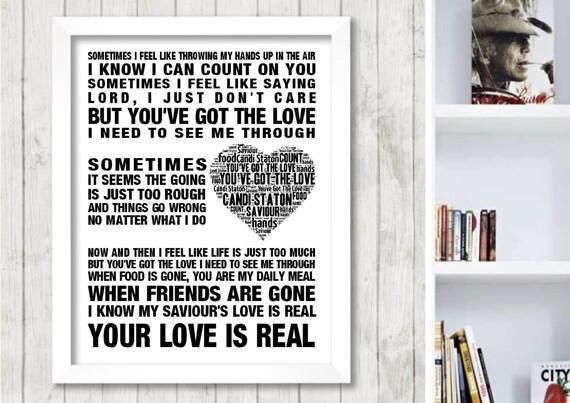 Candi Staton You've got the love Music Love Song Lyrics