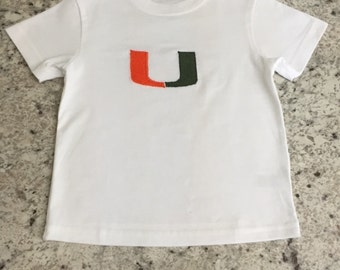 University of Miami T-shirt for Toddlers and Children