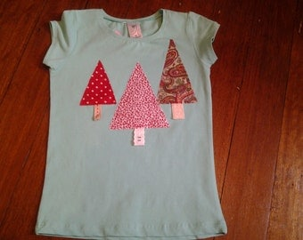 Size 6 - Green 3 Christmas Tree
