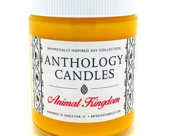 Animal Kingdom Candle - Anthology Candles - Disney Candles - 8 oz Jar