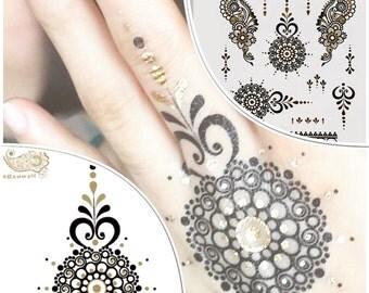 New Chakra selection Metallic Tattoos perfect festival accesory