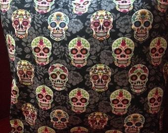 Sugar Skull Pillow Cover