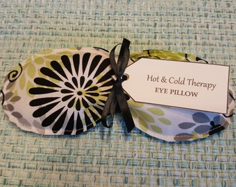 Eye Pillow - Hot & Cold Therapy - Glamour Girl Butterly Floral
