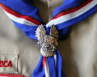 Eagle Scout Kerchief Slide - Bronze