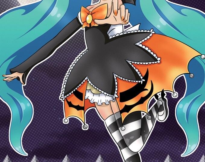 Halloween Miku Hatsune 11X17