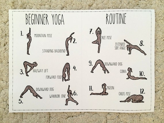 This is a photo of Ambitious Printable Yoga Poses for Beginners