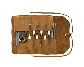 Tool Roll Handmade by Hide & Drink - Swayze Suede