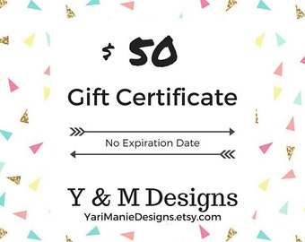 Gifts for Coworker - e-Gift Certificate - Last Minute Gift Ideas for Him - Jewelry Gift - Gifts under 50 - Last minute Christmas Gift