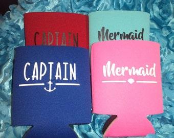 Captain and his mermaid set