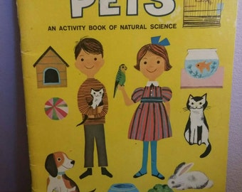 1964 Pets: An Activity Book of Natural Science