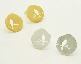 CUTE HOLLOW BIRD, dog breeds, pet lovers, earrings for women, unique jewelry, Jewelry, stud earrings, dog lovers, hush puppies, dog rescue