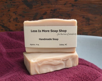 Vegan Handmade Soap ~ All Natural Soap ~ Sensitive Skin Soap ~