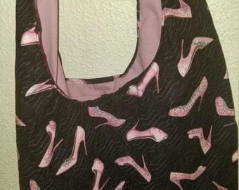 Pink n' Heels print Shoulder bag