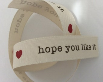 Heart Gift Ribbon