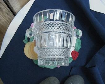 Fine Crystal Icebucket~Cut Crystal