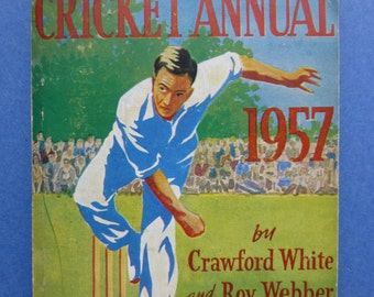 Collection of 10 Cricket Annuals 1940s, 1950s & 1960s