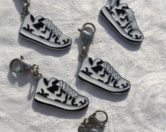 Sneaker Zipper Pulls | Sneaker Charm Necklace | Boy Party Favors | Friendship Gifts | Party Favors and Prizes | Team Gift | Hanukkah Gift