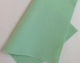 """8"""" x 12"""" Celadon 100% Merino Wool Felt Sheet"""