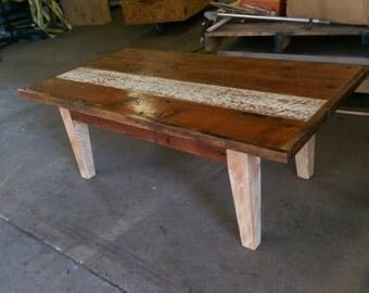 Reclaimed Series- Farm Table Coffee Table
