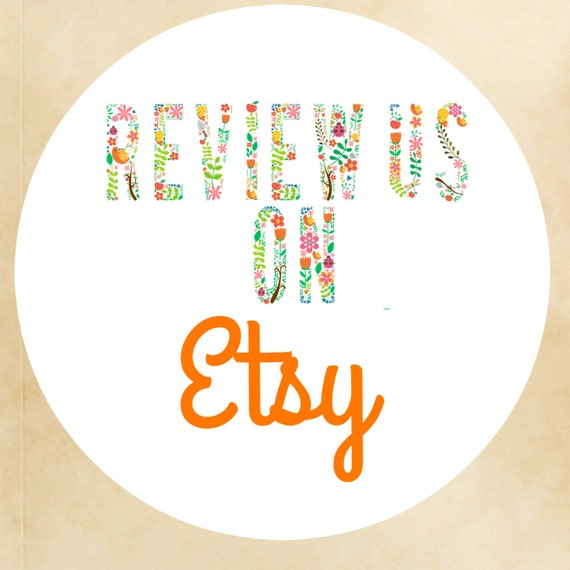 how to give a review on etsy
