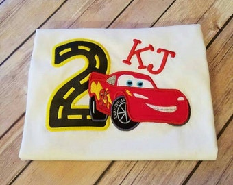 Lightning McQueen Birthday shirt