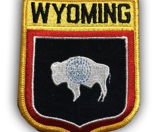 Wyoming Buffalo Bison Patch