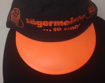 Vintage Double Billed Yagermeister Hat