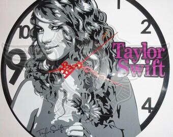 Vinyl Wall Clock TAYLOR SWIFT