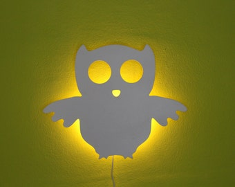 Wise Owl, ambient lighting