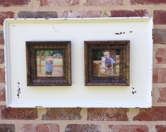 Two photo frame for a 5x5