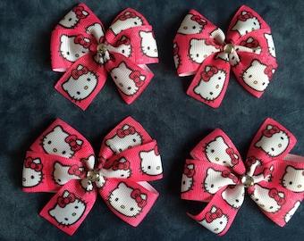Hello Kitty Hairbows