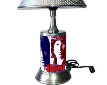 The Doors Lamp with chrome shade