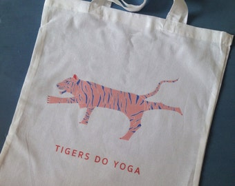 Yoga carrying case of bio-cotton