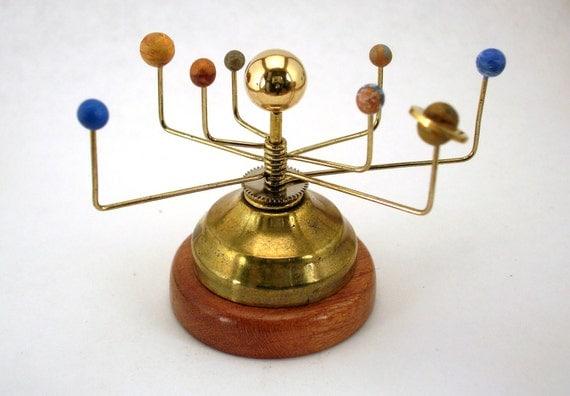 brass solar system model - photo #16