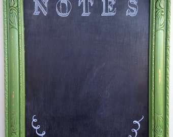 NOTES Chalk Board