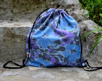 BACKPACK STRINGBAG handmade design fashion