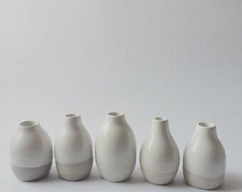 White Mini Vase