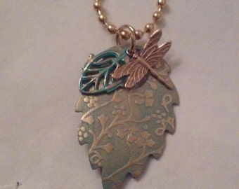 Dragonfly in the Garden Pendant