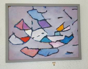AKOS BIRO 1911 - 2002: Geometric Abstract