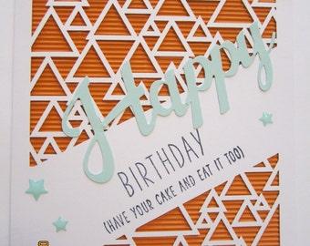 2- Happy Birthday Cards
