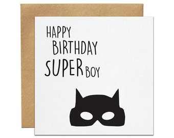 Superboy Greeting Card | Made In Australia