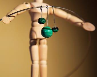 Rush malachite necklace